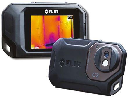 FLIR C2 Thermal Imaging Camera, Temp Range: -10 → +150 °C 80 x 60pixel Detector Resolution