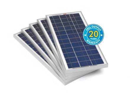 RS PRO 20W Monocrystalline solar panel