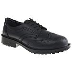4c42aa30fa6 RS PRO Black Steel Toe Men Safety Shoes, UK 7, US 8