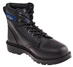 b13a2178d6a RS PRO Black Steel Toe Men Lightweight Safety Boots, UK 8, US 9