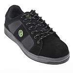 dd0910c8a76 RS PRO Black Steel Toe Men Safety Trainers, UK 8, US 9