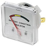 Analogue Panel Battery Meters