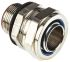 Adaptaflex M25 Swivel Cable Conduit Fitting, Silver 25mm nominal size