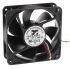 ARX, 12 V dc, DC Axial Fan, 120 x 120 x 38mm, 290.3m³/h, 10.8W