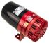 Red/Black Siren, 230 V ac, 120dB at 1 Metre
