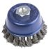 RS PRO Twisted Steel Abrasive Cup Brush, 12500rpm