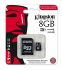 Kingston 8 GB, Class 10, UHS-1 U1, MicroSDHC