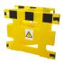 Addgards Black & Yellow Barrier Safety Barrier