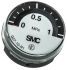 SMC G27-10-R1 Analogue Positive Pressure Gauge Back Entry 1 MPa, 10 bar, Connection Size R 1/16