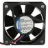 ebm-papst 500F Series Axial Fan, 50 x 50 x 15mm, 20m³/h, 900mW, 24 V dc