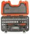 Bahco S-460, 46 Pieces Socket Set 1/4 in Square Drive