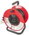 Schneider Electric 25m 4 Socket Type G - British Extension Reel, 240 V