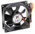 ARX CeraDyna Series Axial Fan, 80 x 80 x 25.4mm, 67.5m³/h, 2.88W, 12 V dc