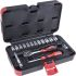 RS PRO, 16 Pieces Socket Set 1/4 in Square Drive