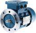 ABB M3AA Reversible Induction AC Motor, 0.18 kW, IE2, 3 Phase, 4 Pole, 415 V ac, Flange Mount Mounting