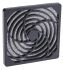 Fan Filter, Fan Mounted 122 x 122mm, for 120mm Fan PUR