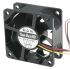 Sanyo Denki San Ace 9S Series Axial Fan, 60 x 60 x 25mm, 34.8m³/h, 1.32W, 12 V dc