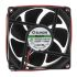 Sunon PE Series Axial Fan, 80 x 80 x 25mm, 102m³/h, 4.8W, 24 V dc