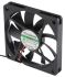 Sunon MB Series Axial Fan, 70 x 70 x 10mm, 34.8m³/h, 1.66W, 12 V dc