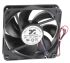 ARX CeraDyna Series Axial Fan, 120 x 120 x 25mm, 223m³/h, 10.2W, 12 V dc
