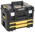 DeWALT TStak Combo II Plus IV 2 drawers  Plastic Tool Box, 332 x 440 x 326mm