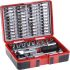 RS PRO, 55 Pieces Socket Set 1/4 in Square Drive