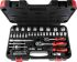 RS PRO, 46 Pieces Socket & Bit Set 1/4 in, 3/8 in Square Drive