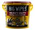 Big Wipes Tub of 240 Blue HEAVY-DUTY Wet Wipes for Heavy Duty Cleaning Use