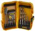 DeWALT 56 piece Multi-Material Twist Drill Bit Set, 3mm to 12mm