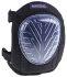 RS PRO Black EVA Foam Adjustable Strap Knee Pad Resistant to Abrasion, Penetration