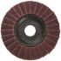DRONCO Zirconium Dioxide Medium Flap Disc, 80 Grit, 115mm x 22mm Bore