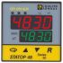 Pyro Controle STATOP 48 PID Temperature Controller, 48 x 48mm, 2 Output Relay, 90  260 V ac Supply Voltage