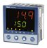 Jumo cTRON PID Temperature Controller, 96 x 96 (1/4 DIN)mm, 3 Output Analogue, 110  240 V ac Supply Voltage
