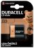 Duracell Ultra Photo CRP2 6V Lithium Manganese Dioxide Camera Battery