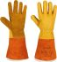 Yellow Leather Welding Gloves 8 - M