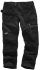 Scruffs 3D Trade Grey Men's Cotton, Polyester Trousers Imperial Waist 34in