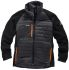 Scruffs Expedition Black/Grey Men's XXL Thermal Insulation Elastane, Polyester Jacket