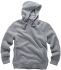 Scruffs Worker Grey Men's Hooded Cotton, Polyester Hoodie XXL