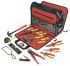 CK 19 Piece Electricians Tool Kit with Case, VDE Approved