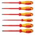 Knipex Screwdriver Set, 6 Piece - 1000V Phillips; Slotted