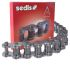 Sedis 12B-1 Carbon Steel Roller Chain, Simplex Strands, 5m Long , 19.05mm Pitch