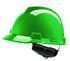 MSA Safety V-Gard Green Safety Helmet