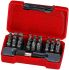 Teng Tools Bits set 28 Pieces, Hexagon, Phillips, Slotted, Torx