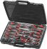 Teng Tools Slotted Head Slotted Screwdriver Set 53 Piece