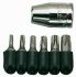 Teng Tools Screwdriver Bit Set 6 pieces