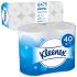 Kimberly Clark 40 rolls of 9600 Sheets Toilet Roll, 2 ply