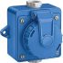 Siemens, 5UB IP68 Blue Industrial Power Socket, Rated At 16A, 250 V No