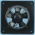 ebm-papst W4S200 Series Axial Fan, 312 x 312 x 55mm, 375m³/h, 34W, 230 V ac