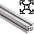 FlexLink Aluminium Beam, 22 x 22 mm, 5.6mm Groove , 2000mm Length