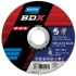 Norton BDX Cutting Disc Aluminium Oxide Grinding Disc, 115mm Diameter, 2.5mm Thick